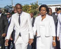 Haiti president's wife Martine Moïse ...