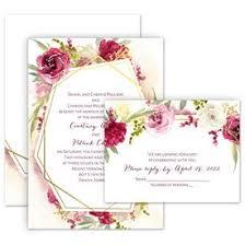 Wedding Invitation Sets Free Respond Cards Anns Bridal Bargains