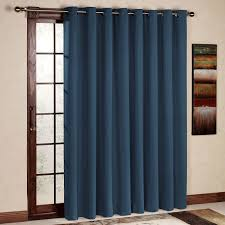 rhf wide thermal blackout patio door curtain panel sliding door curtains antique bronze grommet top