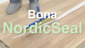 applying bona nordicseal to your hardwood floors city floor supply you