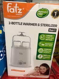 Máy Hâm Sữa & Tiệt Trùng 2 Bình Fatzbaby FB3012SL Giá Rẻ