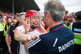 cork manager kieran kingston celebrates with anthony nash after they won the munster final last year image inpho cathal noonan