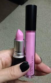 <b>MAC</b> Saint Germain lipstick with <b>Pagoda</b> cremesheen glass lipgloss ...