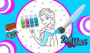 Frozen Colouring Games To Play L L L L L L L L