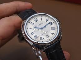 replica cartier cle de cartier series blue second hand watches uk cartier cle de cartier fake watches