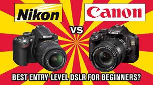 Nikon Vs Canon Best Dslr For Beginners
