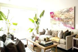 art above sofa contemporary living room view full size wall ideas behind
