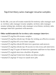 Territory Sales Manager Resume Sample Top224territorysalesmanagerresumesamples1502402240627243conversiongate224thumbnail24jpgcb=12422242492506 18
