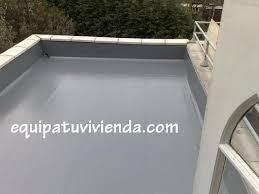 Impermeabilización  EquipatuviviendaPintura Impermeabilizar Terraza Transitable