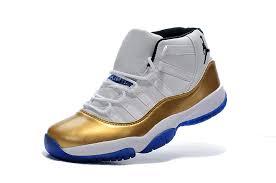 jordan shoes 11 white. new air jordan 11 custom white gold true blue 2015-3 shoes b