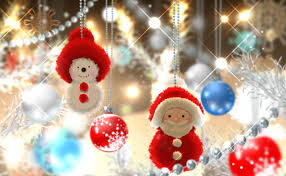 beautiful christmas decorations. Snowman Christmas Tree Holiday Balls Santa Claus Yarn Event Decoration Decorations Beautiful Y