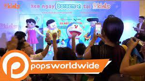Sự Kiện Ra Mắt Loạt Phim Doraemon Trên POPS Kids (FULL SHOW) - YouTube