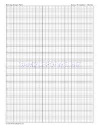 Preview Pdf Letter Sized Knitting Graph Paper Ratio 4 5 Portrait