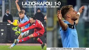 LAZIO-NAPOLI 1-0 - Radiocronaca di Francesco Repice e Sergio Brio  (11/1/2020) da Rai Radio 1