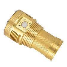 Haikelite MT03 đồng thau Nguyên Chất XHP70.2 Bóng đèn pin đồng thau Nguyên  Chất Ốp lưng Phiên Bản Giới Hạn|Flashlights & Torches