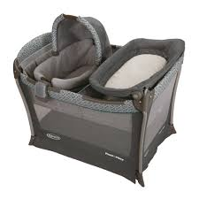 baby portable bassinet playyard infant nursery folding sleep bed