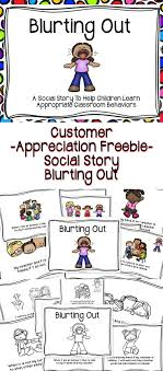 best ideas about social skills activities a customer appreciation bie a social story to help children learn positive classroom behaviors