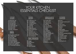 kitchen kitchen items for new home on kitchen inside list