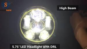 Dot Approved Led Lights Morsun Dot Approved 5 75 Inch Led Motorcycle Headlight For Royal Enfield E Mark Moto Led Lights With Halo Headlight For Harleys Buy Morsun Dot