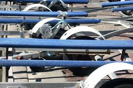 properly adjusted trailer bunks keep your boat steady during towing