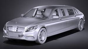 2018 maybach pullman. brilliant pullman 15 mercedes s600 pullman maybach guard 2018 royaltyfree 3d model  preview  no 16 with maybach pullman