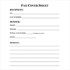 free fax cover sheet printable fax cover sheet letter template pdf