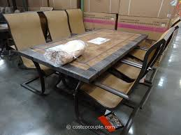 patio furniture sets costco. Agio International 7 Piece Sling Dining Set Costco 2 Random Patio  Furniture Patio Furniture Sets Costco O