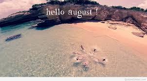 wonderful summer image hello august wallpaper hd