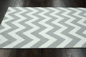 grey and white rug 8x10 photo 3 of 4 grey and white chevron rug 3 gray