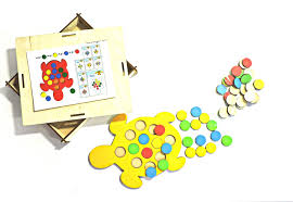 <b>Обучающая игра Taowa Кружочки</b>, 051-212-1 желтый, красный ...