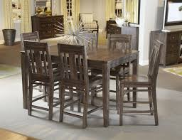 tall dining table intended for kincaid furniture montreat seven piece casual counter height designs 4
