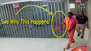 jail hallway. sandra bland walks past jail cell explained full hallway video waller county judge youtube
