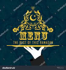 Iftar Menu Design Ramadan Month Food Menu Design Halal Religion Food And