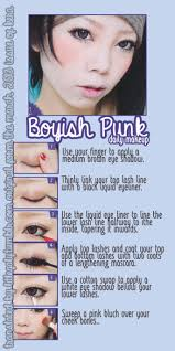boyish punk makeup tutorial from the march 2016 issue of kera