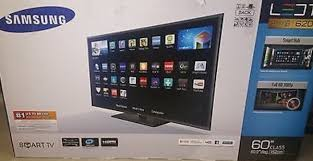 samsung smart tv 60 inch box Used for sale - letgo