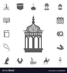 Lantern Icon Ramadan Kareem Eid Mubarak