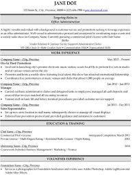 Office Administration Resume Examples Pin By Reagan Littlefield On Sell Resume Templates Job