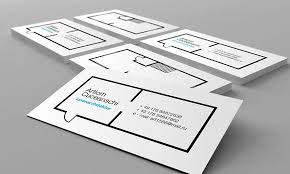 35 Architect Business Card Designs For Inspiration Mameara