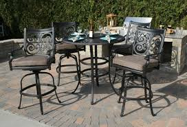 round table of patio furniture black outdoor furniture
