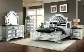 White Queen Bedroom Set White Bed Furniture Gorgeous Luxury White ...