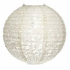 12 designer japanese random ogura lace fibrous paper lantern shade hanging decoration