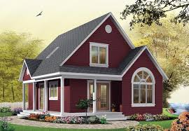Small Picture Cottage House Plan chp 28554 at COOLhouseplanscom
