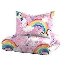 dream factory unicorn 2 piece pink
