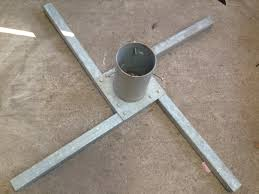 Large Christmas Tree Stand Galvanised Tree Stand For Trees Up To 25ft