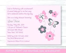 Baby Shower Invitation Backgrounds Free Simple Free Editable Baby Shower Invitation Templates Template With Elegant