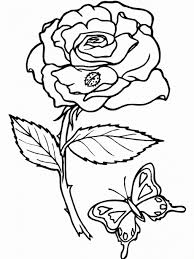 Small Picture Rose Picture For Colouring Kids Coloring europe travel guidescom