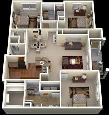 4 bedroom house designs 3 bedroom house plans 3d design