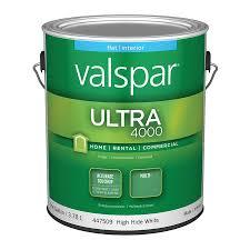 Valspar Ultra 4000 High Hide White Flat Latex Interior Paint (Actual Net  Contents: 128