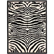 lyndhurst white black 4 ft x 6 ft area rug