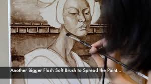 how to paint portrait with oil glazing oil painting technique the meeting by lucy chen